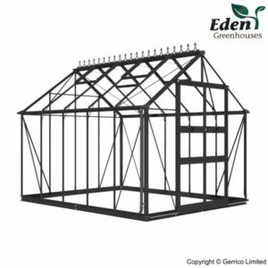 Eden Blockley Greenhouses (8ft wide)