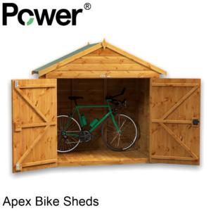 Power® Apex Bike Sheds