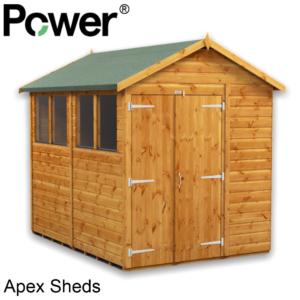 Power® Apex Sheds