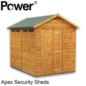 Power® Security Apex Sheds